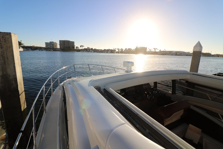 Motor yacht boat rental in Newport Beach Yacht Club, CA