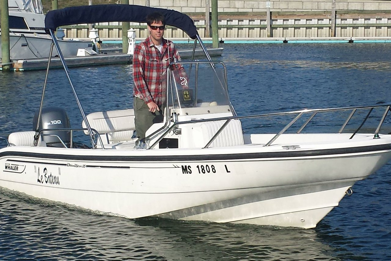 Rent A Boston Whaler Dauntless 16 39 Motorboat In Barnstable