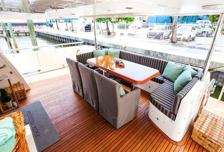 Mega yacht boat rental in Marina Hemingway,
