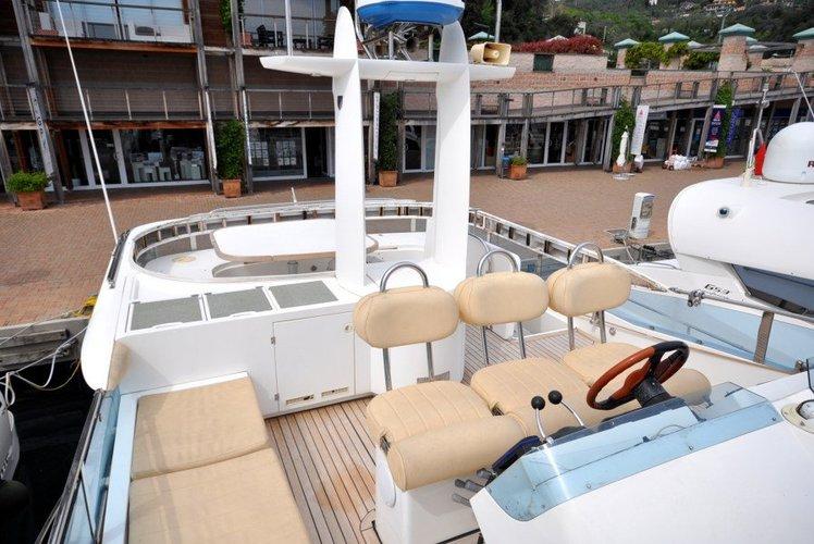 Fairline's 59.0 feet in Tortola