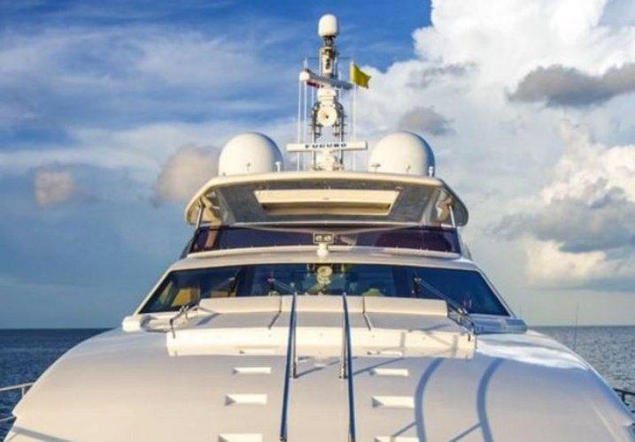 Boat for rent Ferretti 97.0 feet in Bill Bird Marina, FL