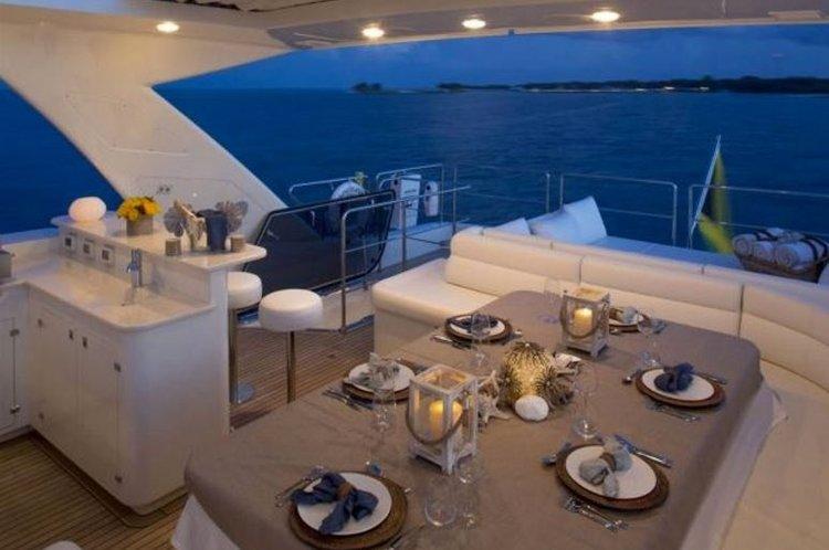 Motor yacht boat rental in Bill Bird Marina, FL