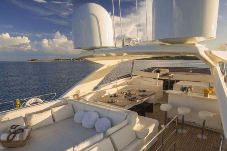 Ferretti's 97.0 feet in Miami Beach