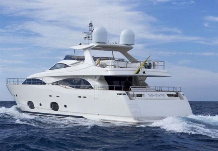 97' Ferretti See Miami from the water aboard this gorgeous megayacht