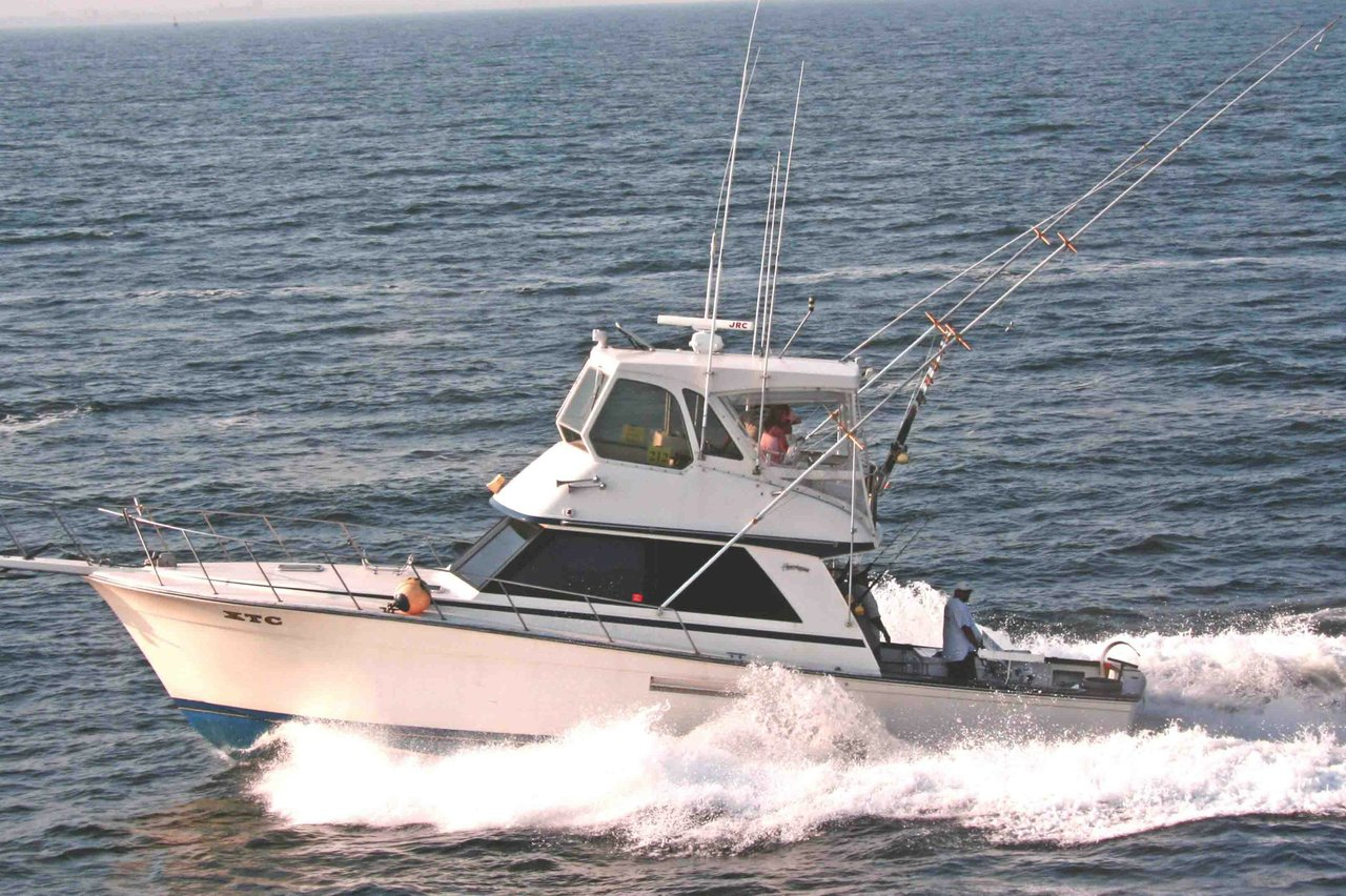 rent a henriques sport fisher 44 39 motorboat in belmar nj