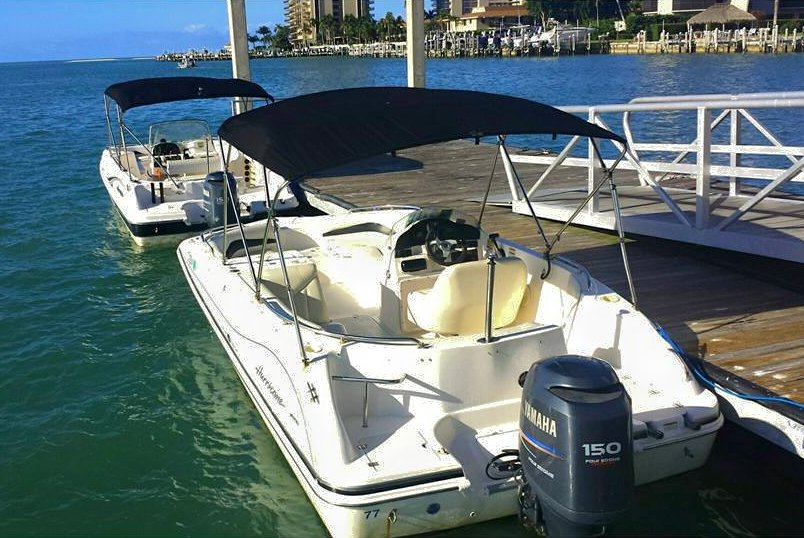 Deck Boat Rental Marco Island Fl