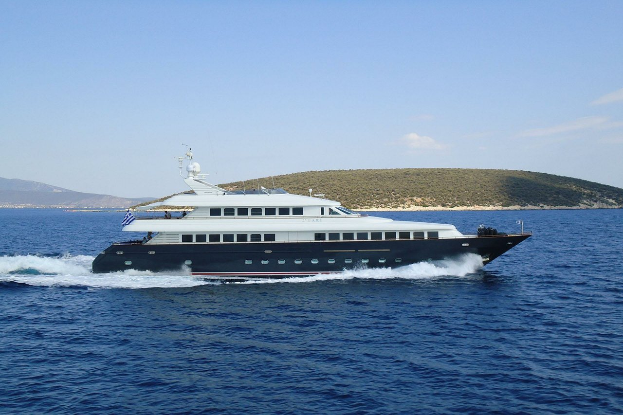 Luxury boat rentals elliniko gr intermarine spa motor for Motor boat rental greece