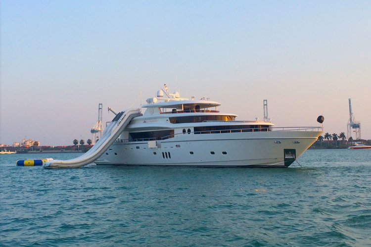 Cruise to Cuba in this Luxurious Super Yacht