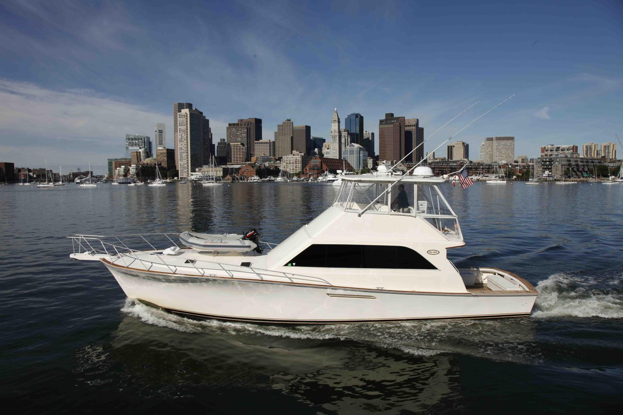 luxury boat rentals boston ma ocean yacht convertible 1047