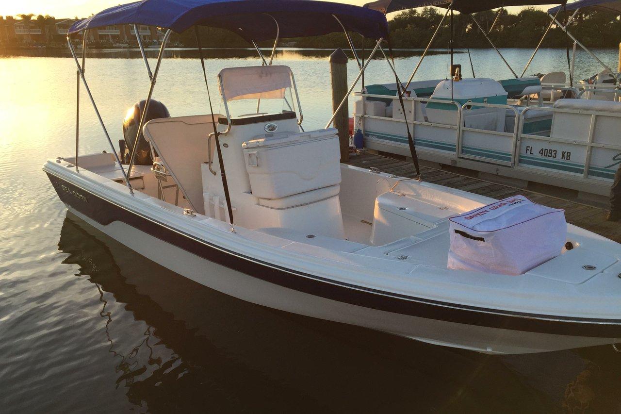 Rent A Sea Born 22 22 39 Motorboat In New Smyrna Beach Fl
