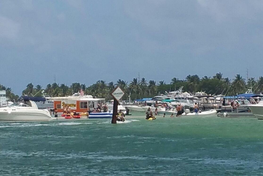 North Miami Beach Motor Boat Rental 20 Party Barge 1601