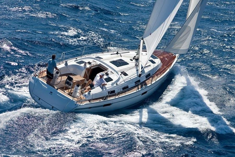 Enjoy a luxury vacation on this stunning sailing yacht