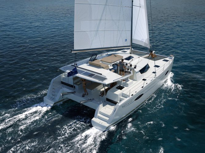 Sail Cuba in this Euro-Style Sailing Catamaran!