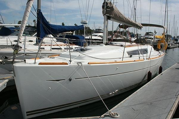 A Performance Cruiser out of Marina Del Ray, California