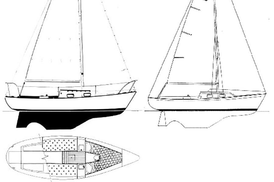 rent a quickstep 24 24 u0026 39  sailboat in solomons  md on sailo