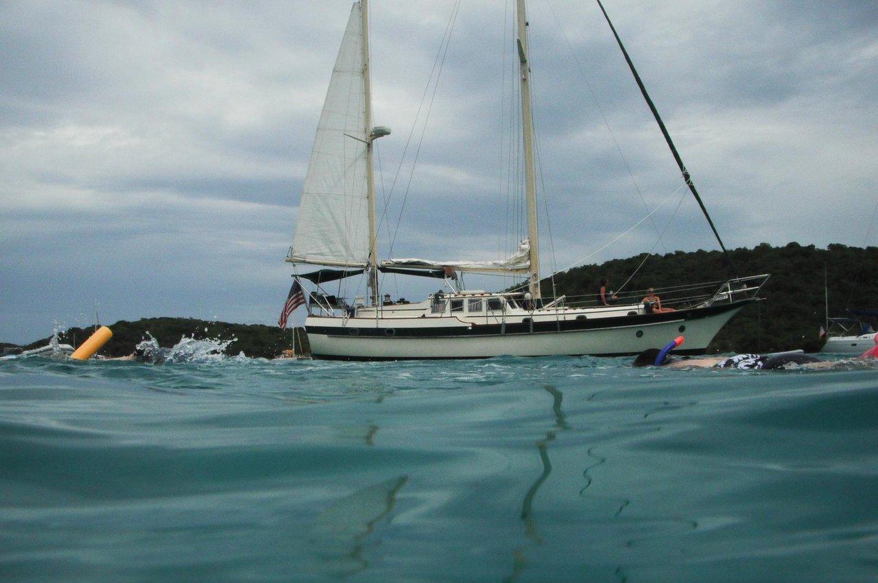 St Thomas Sailboat Rental Sailboat 1486 Sailo