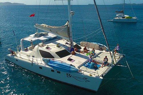 Catamaran boat rental in St. Thomas,