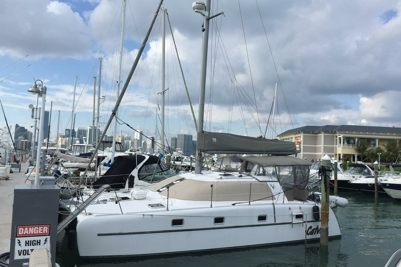 Perfect Catamaran For Everything Miami Can Offer