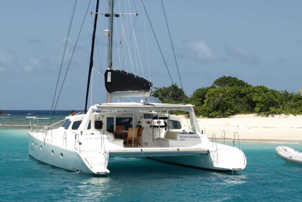 Tortola boat rental sailo tortola vg catamaran boat 1797 for Fishing boat rental