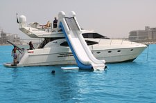 Experience Private Charter and  Water Slide in Dubai UAE