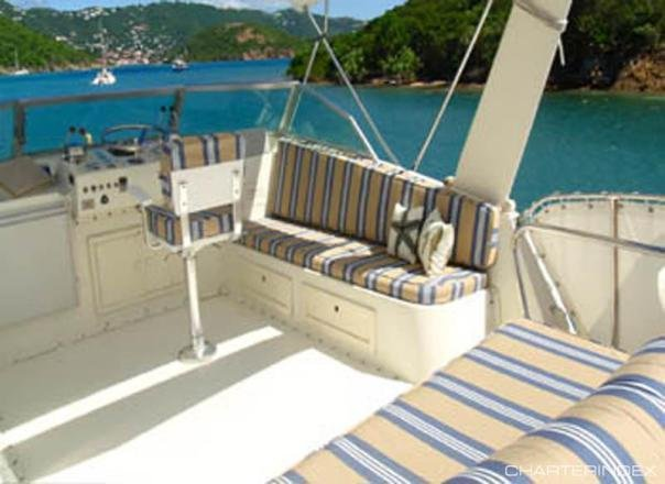 Boat for rent Hatteras 58.0 feet in Nanny Cay Resort & Marina, British Virgin Islands