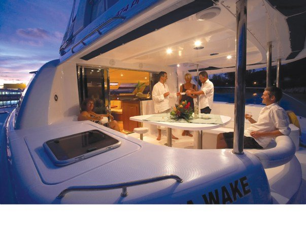 This 47.0' Leopard cand take up to 10 passengers around Tortola
