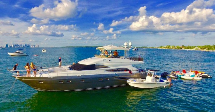 Yacht Party Rental - 65' Princess!