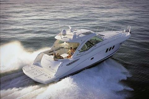 Express cruiser boat rental in Miamarina at Bayside, FL