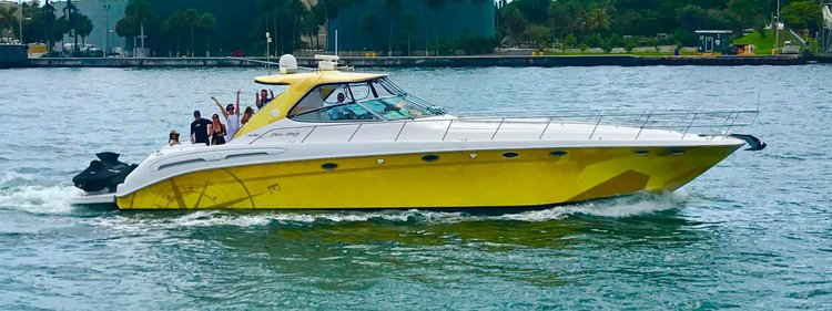 Yacht Party Rental in Miami - 54' Sea Ray