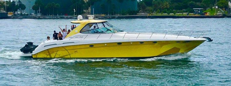 Yacht Party Rental - 54' Sea Ray!