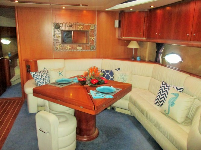 Discover Tortola surroundings on this Predator 68 Sunseeker boat