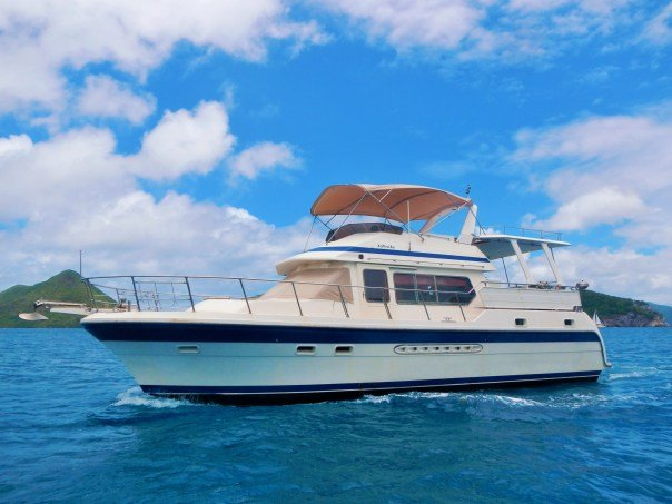 Rent A Leopard 47 Pc 47 39 Motorboat In Tortola Vg On Sailo