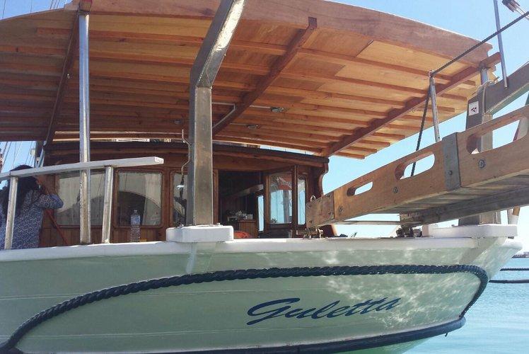 Motorsailer boat rental in Trapani, Italy