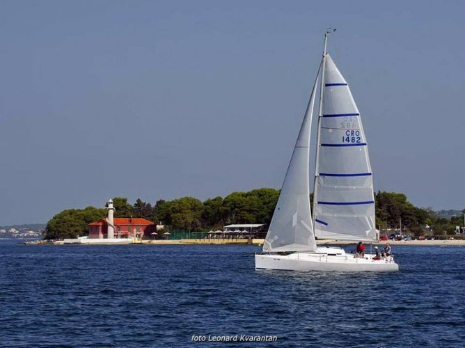 Boat for rent Justin yachts 30.0 feet in Marina Tankerkomerc, Zadar,