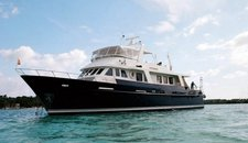 Explore the BVIs aboard this Custom Motor Yacht