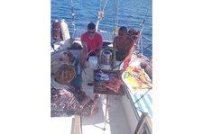 Charter 40ft sailboat inMontegoBay, Jamaica