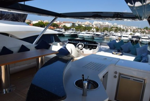 Mega yacht boat rental in Antibes, France