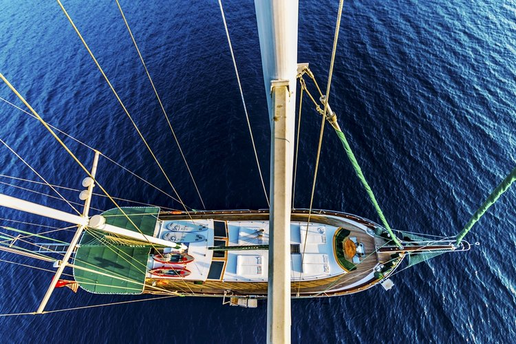Boating is fun with a Motorsailer in Mykonos