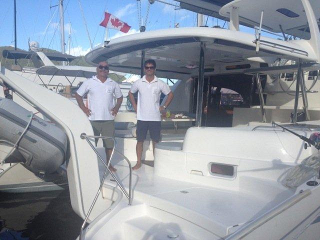 Boating is fun with a Catamaran in St. Martin