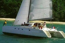 Rent this catamaran in the Sporades  for a trip that you will never forget !