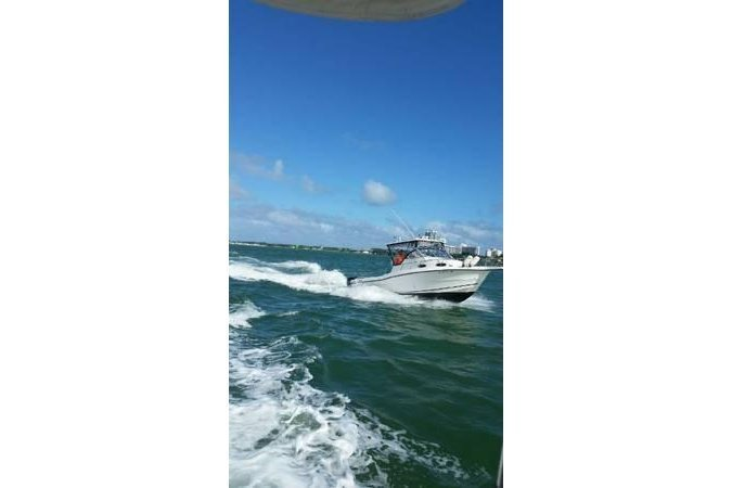 Offshore sport fishing boat for rent in TANGER