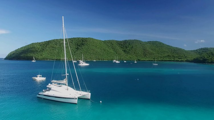 Award-winning 62 ft Sailing Catamaran. Explore the Virgin Islands in Luxury