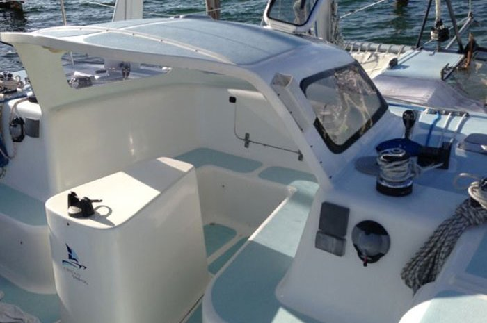 Catamaran boat rental in Marina Chac Chi,