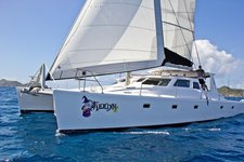 Jump on this incredible catamaran for a trip you will never forget !
