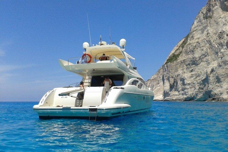 Motor yacht boat rental in Zakynthos,