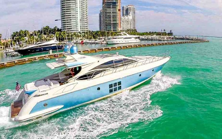 Boat for rent Azimut 68.0 feet in Loggerhead Club & Marina - Hollywood, FL