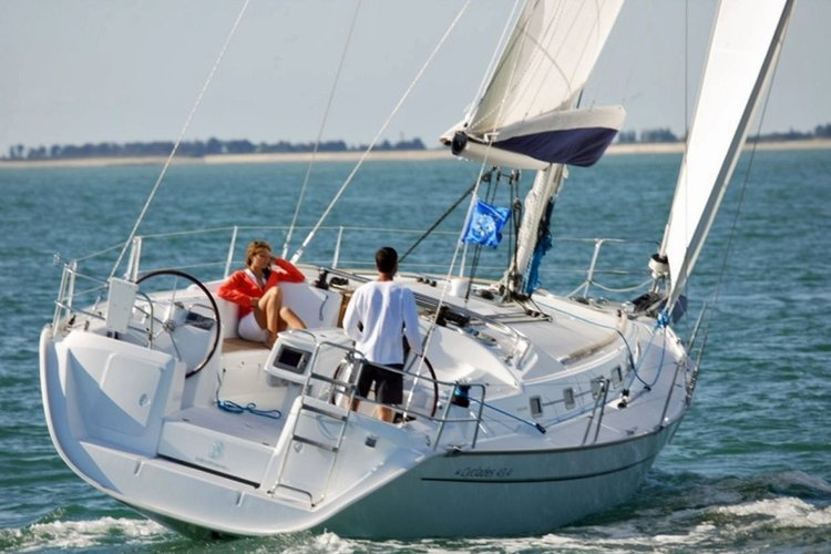 Take on Ibiza with this Perfect Sailing Boat!