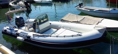Boating is fun with a Inflatable outboard in Slatine, Split