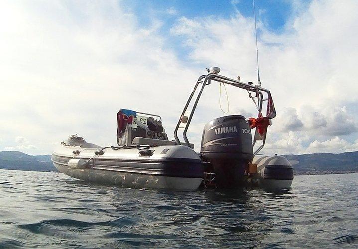 Discover Slatine, Split surroundings on this Coaster 580 Joker  Boat boat