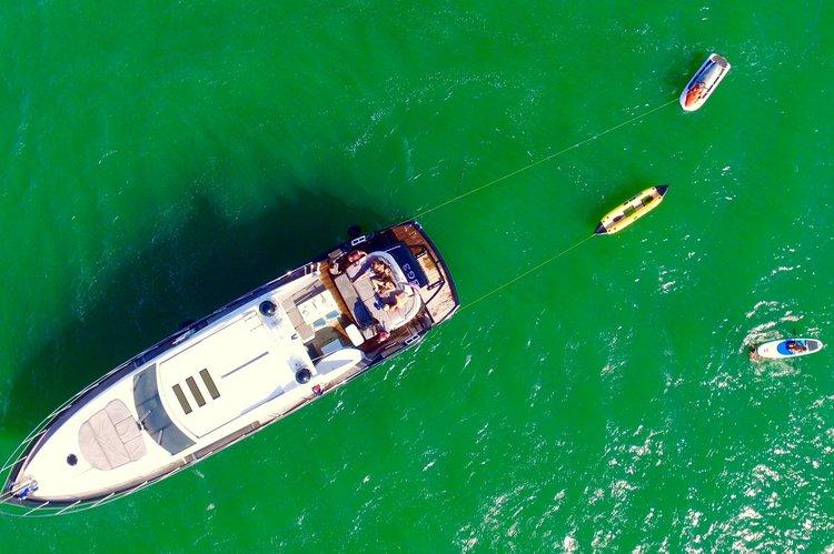 Yacht Party Rental in Miami Beach - 74' Predator!